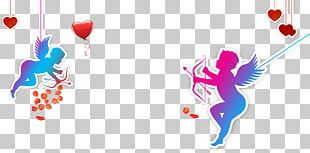 Cupid Valentines Day Computer File PNG