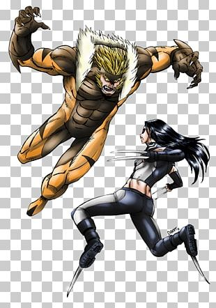 Sabretooth X-23 Wolverine Professor X Invisible Woman PNG