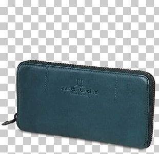 Wallet Electric Blue Turquoise Coin Purse Teal PNG