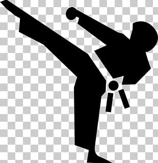 Martial Arts Karate Kick PNG