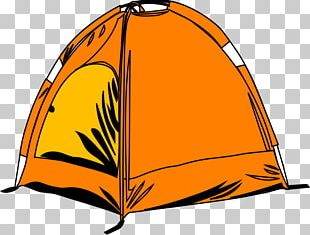 Camping Tent Campsite Campfire PNG