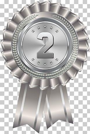 Silver Medal Gold Medal Award PNG