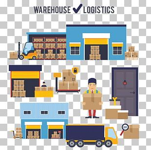 Warehouse Management Supply Chain Business PNG