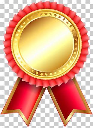 Award Ribbon Rosette PNG