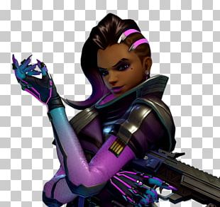 Overwatch Animated Media Sombra 2018 Overwatch League Season Characters Of Overwatch PNG