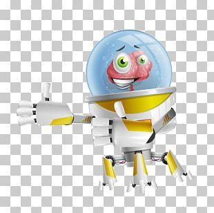 Robot Cartoon Animation PNG