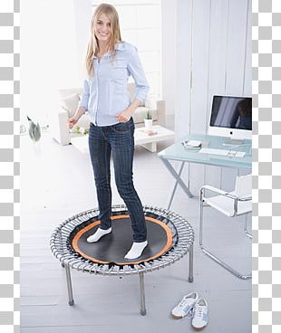 Trampoline Trampette Jumping Health Exercise PNG