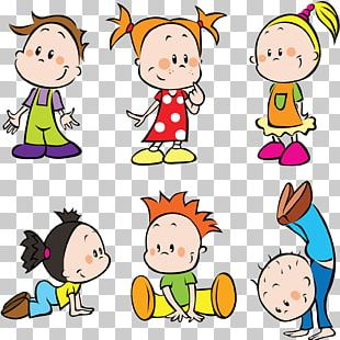 Child Cartoon Play PNG