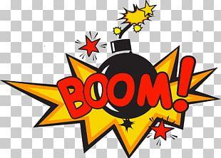 Time Bomb Explosion Comics PNG