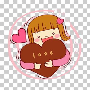 Valentine's Day Illustration PNG