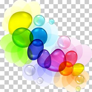 Bubble Color Drop PNG