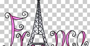 Eiffel Tower Drawing Black And White PNG