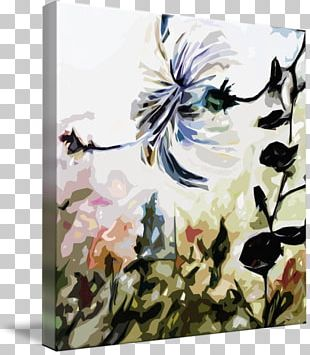 Floral Design Watercolor Painting Still Life Acrylic Paint Art PNG