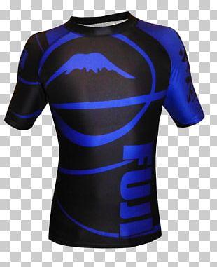 Rash Guard T-shirt Brazilian Jiu-jitsu Sleeve Sports PNG
