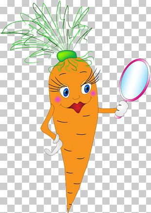 Beauty Carrot PNG