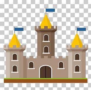 Castle Silhouette PNG