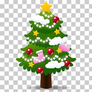 Large Xmas Tree Emoji PNG