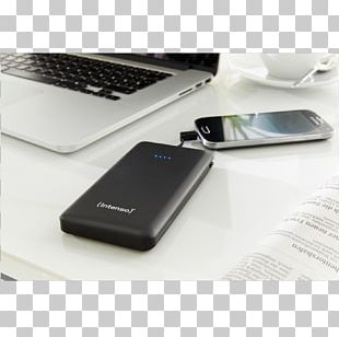Mobile Phones Battery Charger Baterie Externă Intenso GmbH Lithium Polymer Battery PNG