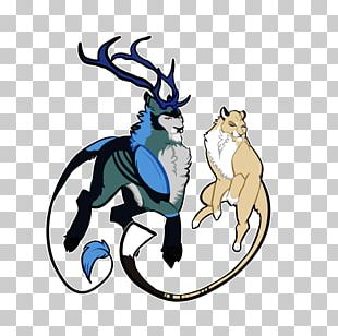 Reindeer Horse Antler PNG