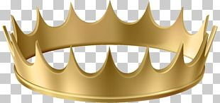 Gold Crown Human Tooth PNG