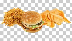 Hamburger Junk Food Fast Food French Fries PNG