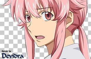 Yuno Gasai Future Diary Cardcaptor Sakura Yandere PNG