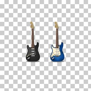 Fender Stratocaster The Black Strat Guitar Musical Instrument Icon PNG