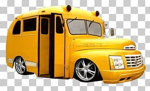 School Bus Yellow Car Lowrider PNG