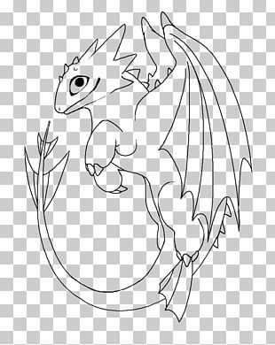 Line Art How To Train Your Dragon Drawing PNG