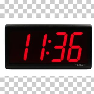 Radio Clock Digital Clock Alarm Clocks Digital Data PNG
