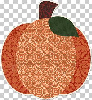 Place Mats Green Autumn Pattern Fruit PNG