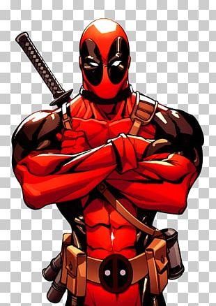 Deadpool Spider-Man Wolverine Daredevil Weasel PNG