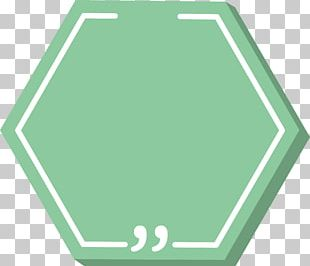 Hexagon Green Icon PNG