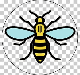 Manchester Storm Worker Bee Symbols Of Manchester PNG