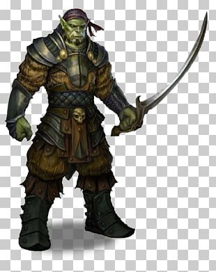 Pathfinder Roleplaying Game Dungeons & Dragons D20 System Half-orc Pirate PNG