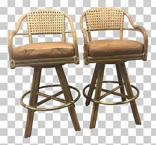 Bar Stool Chair Furniture Armrest PNG