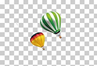 Hot Air Balloon Landing PNG