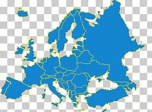 Europe Map PNG