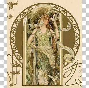 Art Nouveau Avenue Rapp Illustrator Illustration PNG