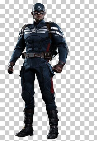 Captain America Action & Toy Figures Hot Toys Limited Costume S.H.I.E.L.D. PNG