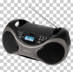 CD Player Compact Disc CD-RW Sencor SPT 225 PNG