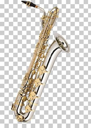 Baritone Saxophone Woodwind Instrument Musical Instruments Brass Instruments PNG
