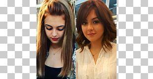 Hair Coloring Long Hair Bangs Black Hair PNG