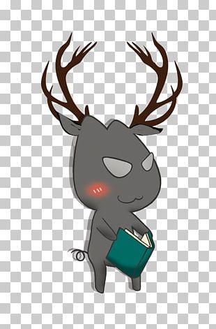 Reindeer Christmas Santa Claus PNG