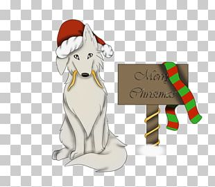Dog Santa Claus Christmas Ornament Canidae PNG