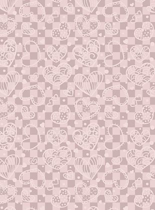 Pink Headscarf Pattern PNG