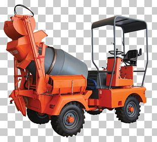 Cement Mixers Motor Vehicle Heavy Machinery Betongbil PNG