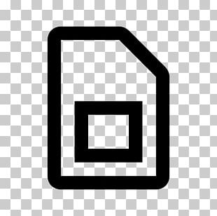 Computer Icons Subscriber Identity Module Symbol Mobile Phones PNG