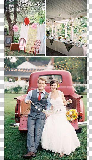 Floral Design Wedding Dress Flower Bouquet Paper PNG