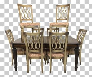Dining Room Table Matbord Chair 1970s PNG